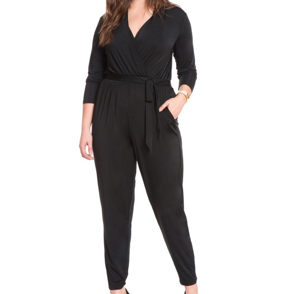 Eloquii Pants - Eloquii Tie Waist Jumpsuit NWT Size 18